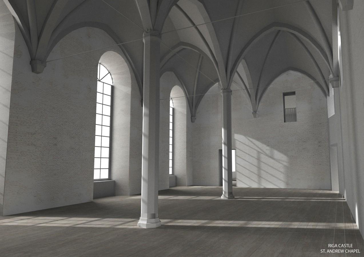Riga Castle_St.Andrew Chapel_5