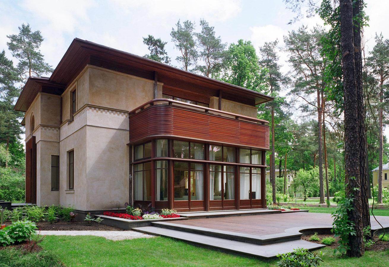 villa in riga, exterior, sudraba arhitektūra